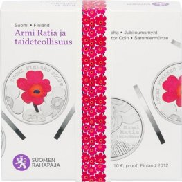 10 Euroa 2012 Armi Ratia Proof