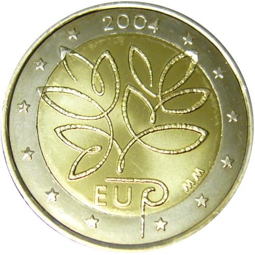 2 Euroa 2004 Suomi Risuraha UNC Suomen suosituin 2 Euron juhlalyönti [LL-G9] : Tervetuloa ...